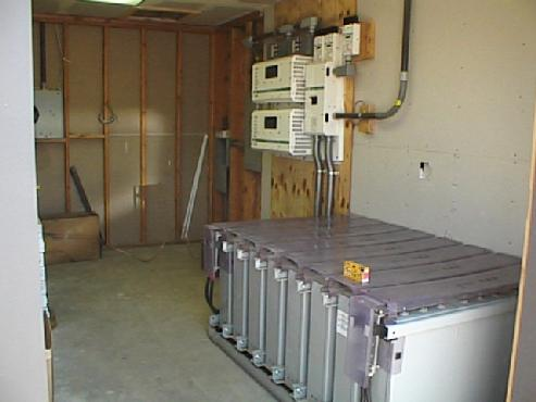 Battery and Inverter Room